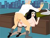 Sex secretary game