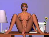 Late night office sex game